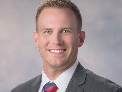 Photo of Ethan Bennett, NP of Oncology